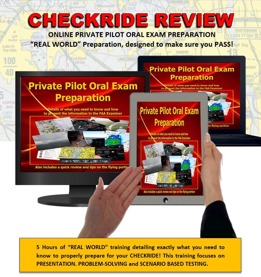 Online Private Pilot Oral Exam Prep